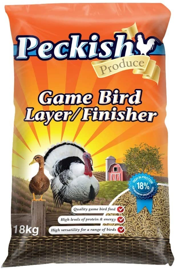 PECKISH Game Bird Layer/ Finisher, 18kg. (SN:B07GSBV7KJ) (278569-633)