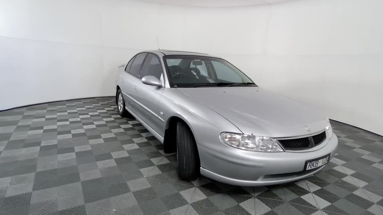 2002 Holden Berlina VX Automatic Sedan