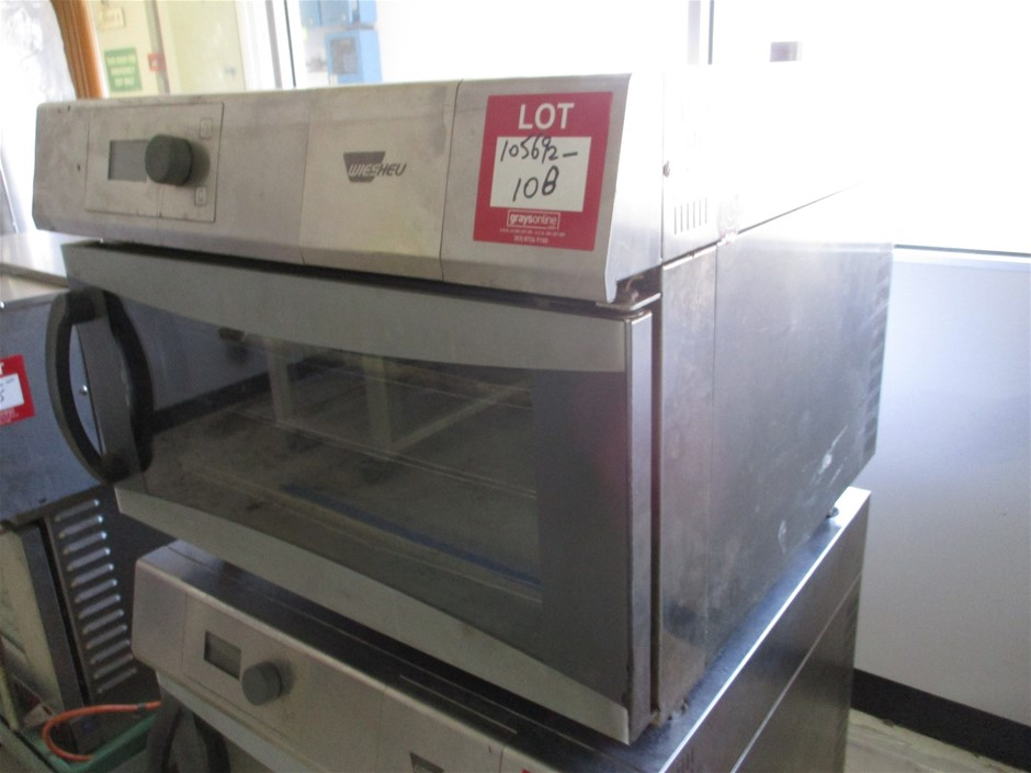 Wiesheu Commercial Electric Oven Stainless Steel