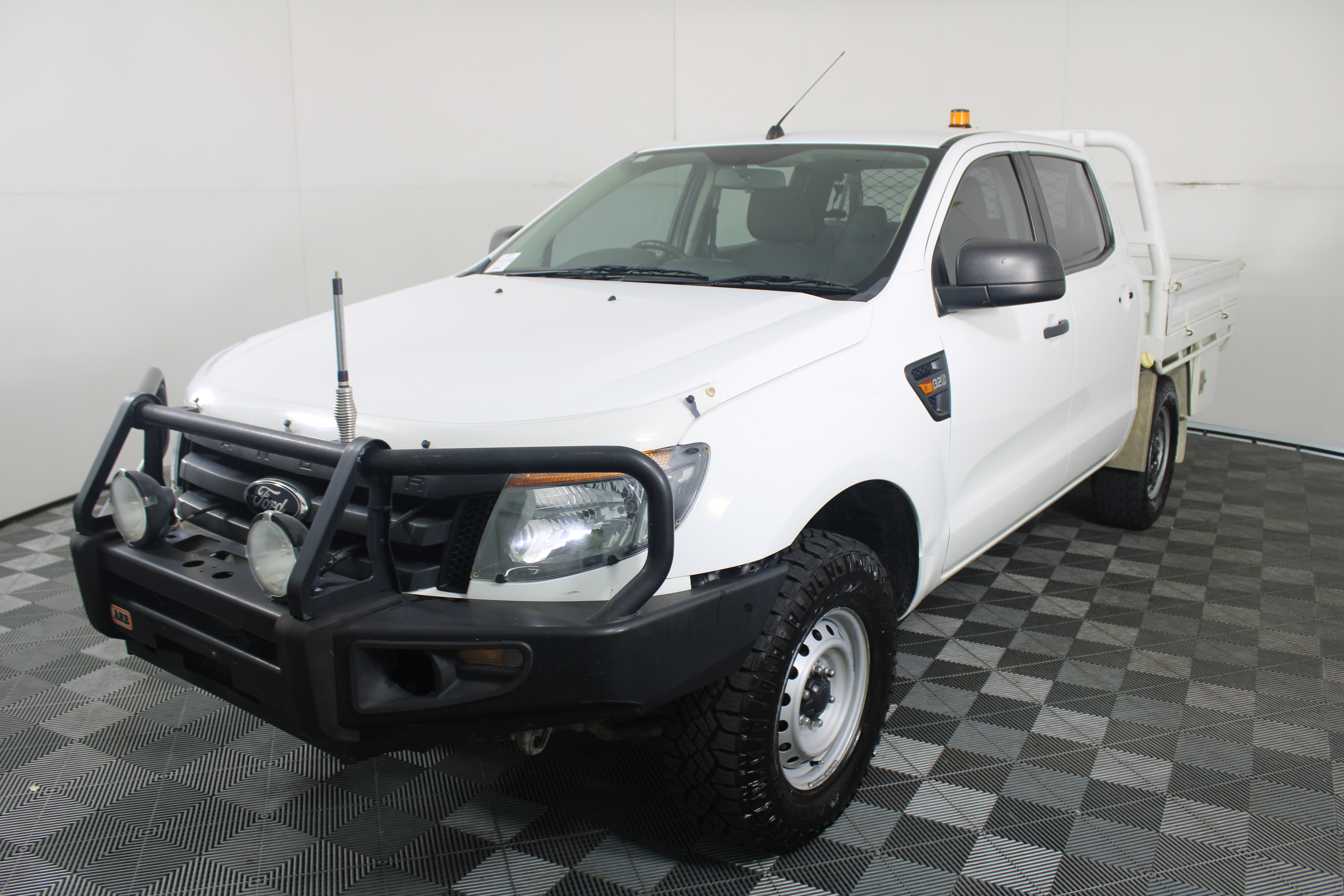 2015 Ford Ranger XL 4X4 PX Turbo Diesel Automatic Crew Cab Chassis