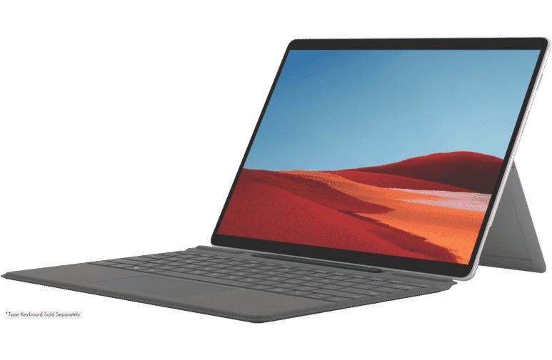 Microsoft Surface Pro X 13-inch SQ2/16GB/256GB SSD 2 in 1 Device - Platinum