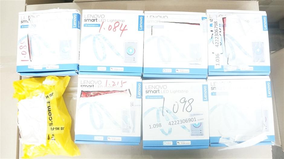Box of USED/UNTESTED Lenovo LED LightStrip, 2M