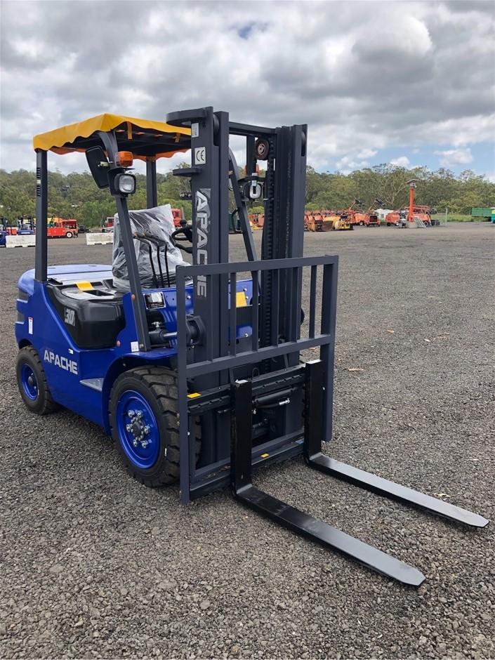 Apache HH30Z Counterbalance Forklift