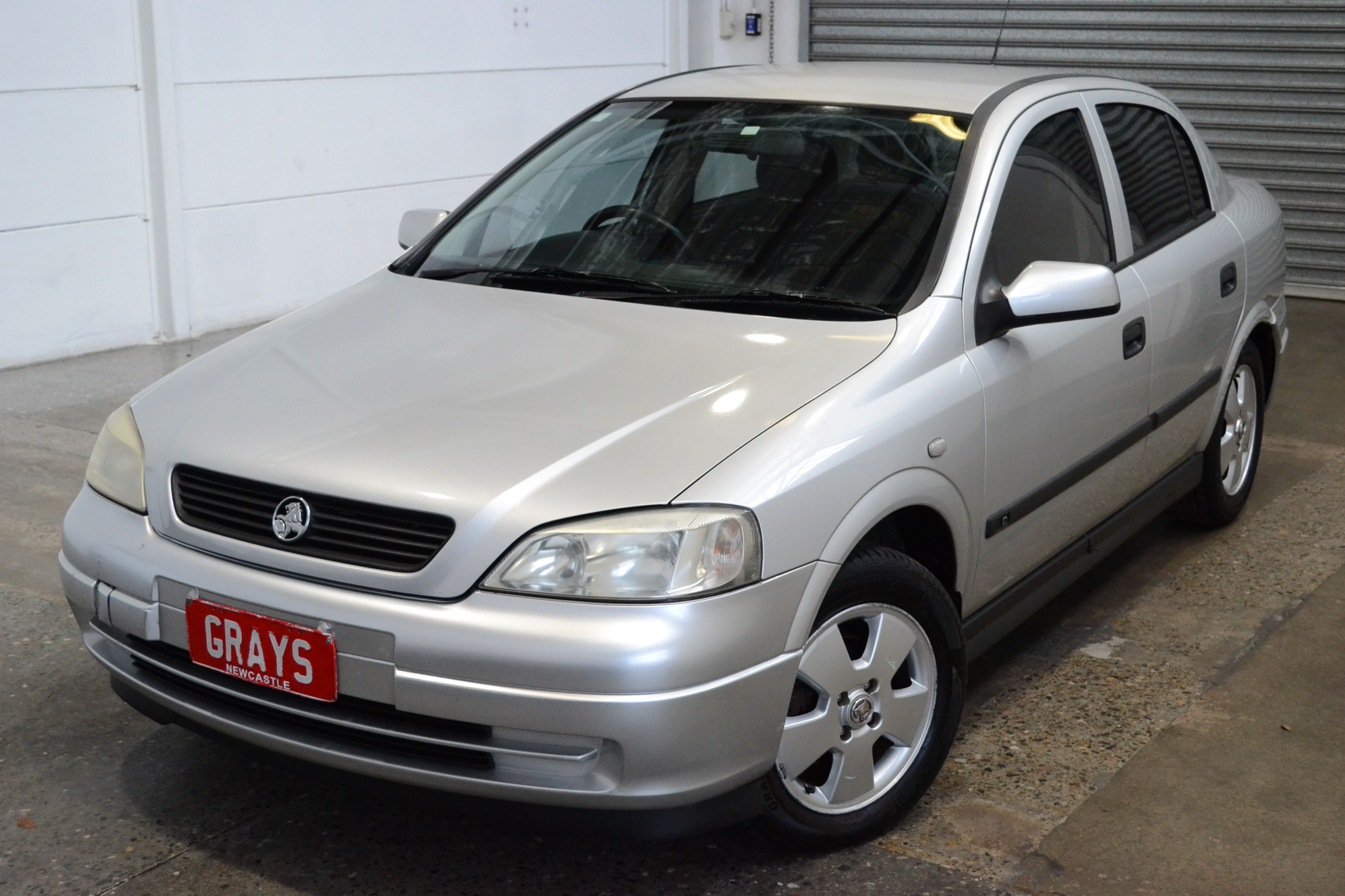 2001 Holden Astra CD TS Automatic Sedan
