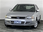 Unreserved 2001 Ford Laser LXi KQ Manual Hatchback