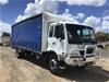 <p>2003 UD Nissan PKC215 (Ex Fleet) Curtainsider Rigid Truck</p>