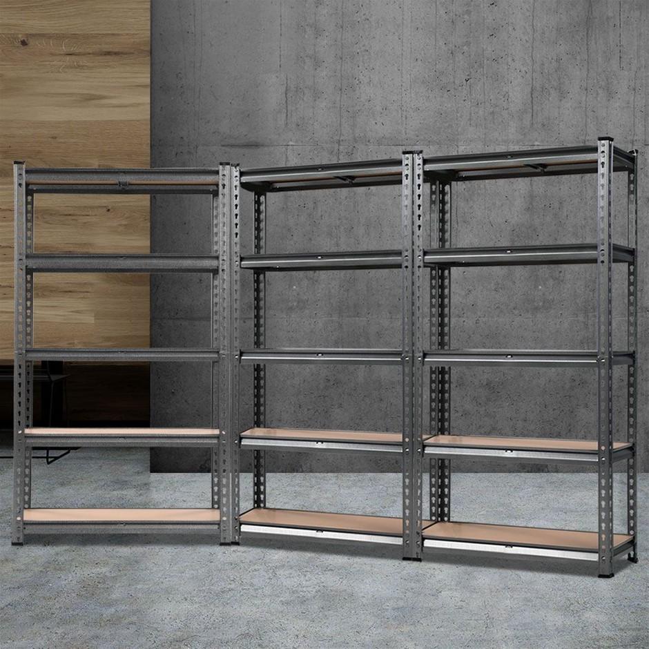Giantz 3x0.7M Warehouse Shelving Storage Rack Steel Garage Shelf Shelves