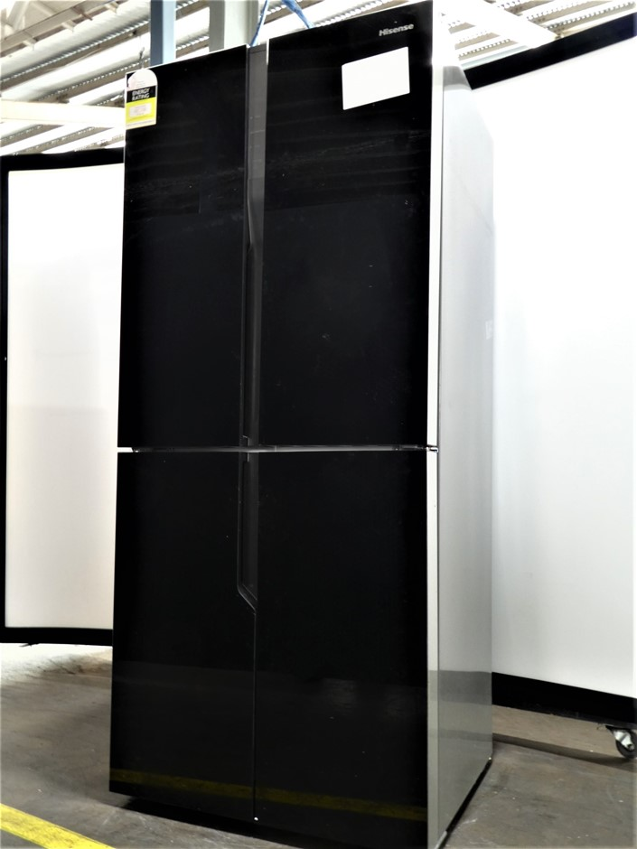 Hisense HR6CDFF512GB 512L French Door Fridge
