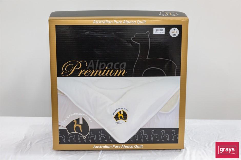 Zenger Alpaca Premium Bedding King Size Pure Alpaca Quilt