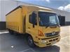 2014 Hino FD 500 4 x 2 Curtainsider Rigid Truck