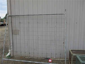 20 Panels of Temporary Fencing