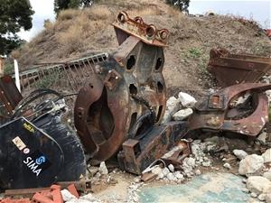 Hydraulic Excavator Grab