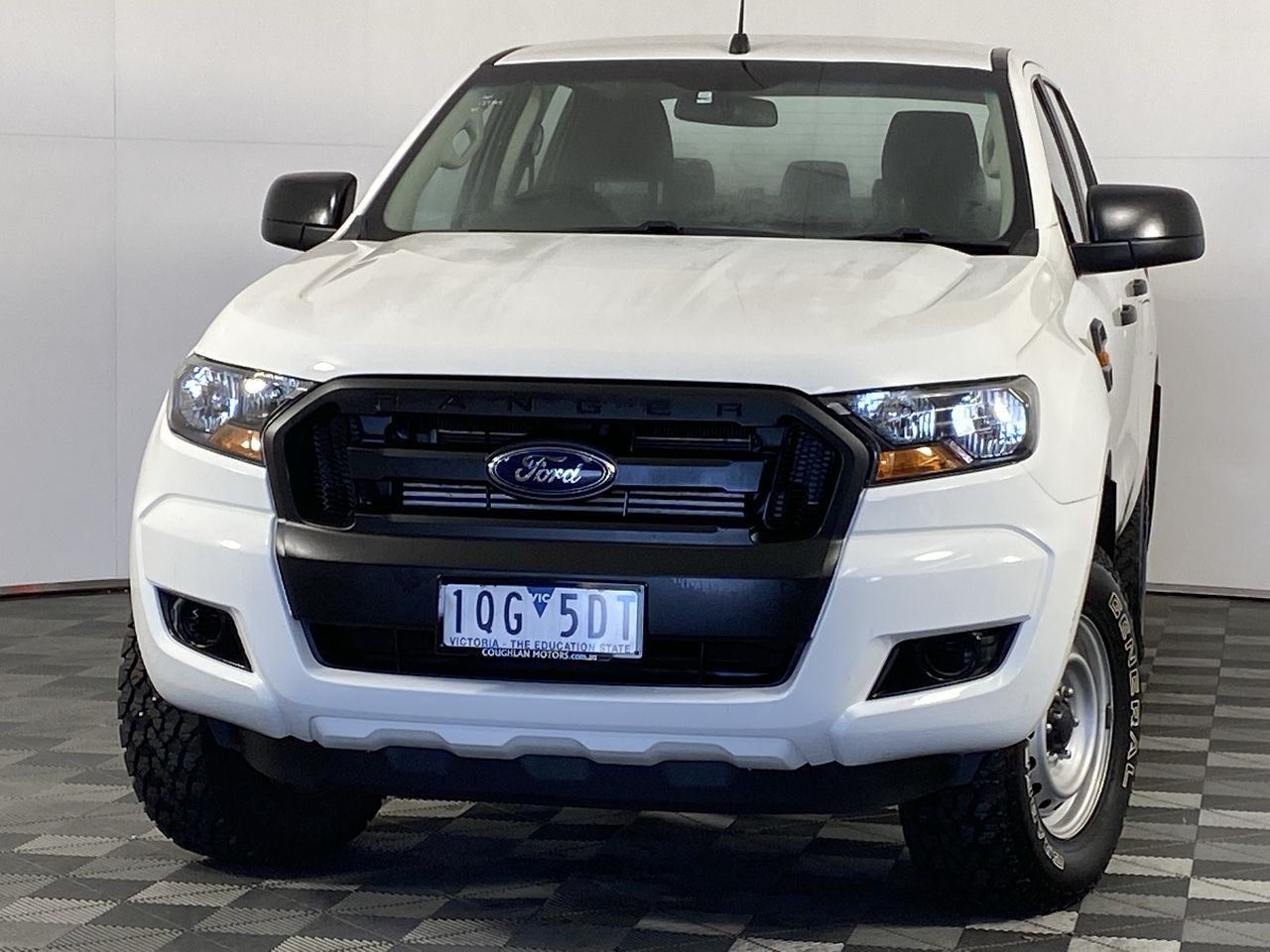 2016 Ford Ranger XL 4X4 PX II Turbo Diesel Automatic Crew Cab Chassis