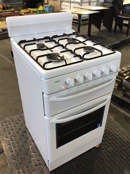 Chef 54cm Freestanding Upright Gas Oven