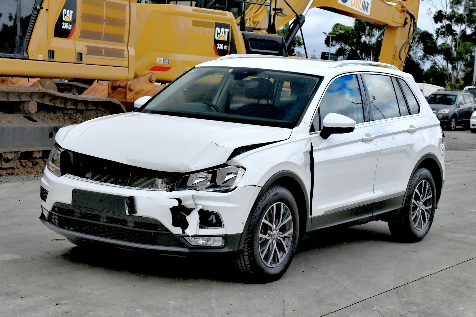 2016 Volkswagen Tiguan 110TSI COMFORTLINE Auto Wagon (WOVR) (DAMAGED)