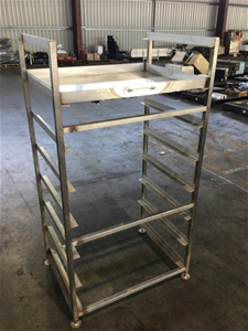 S/steel Tray Rack