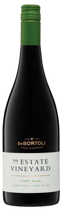 De Bortoli The Estate Vineyard Pinot Noir 2019 (6x 750ml). VIC. Screwcap
