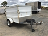 <p>2006 Feral Fabrication Luggage Trailer Single Box Trailer</p>