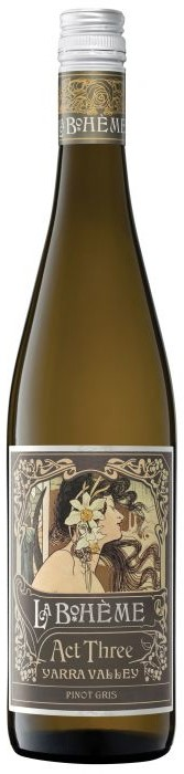 De Bortoli `La Boheme Act Three` Pinot Gris & Friends 2020 (6 x 750ml), VIC