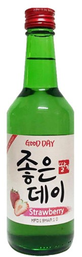 Good Day Strawberry Soju (20x 360mL). Japan