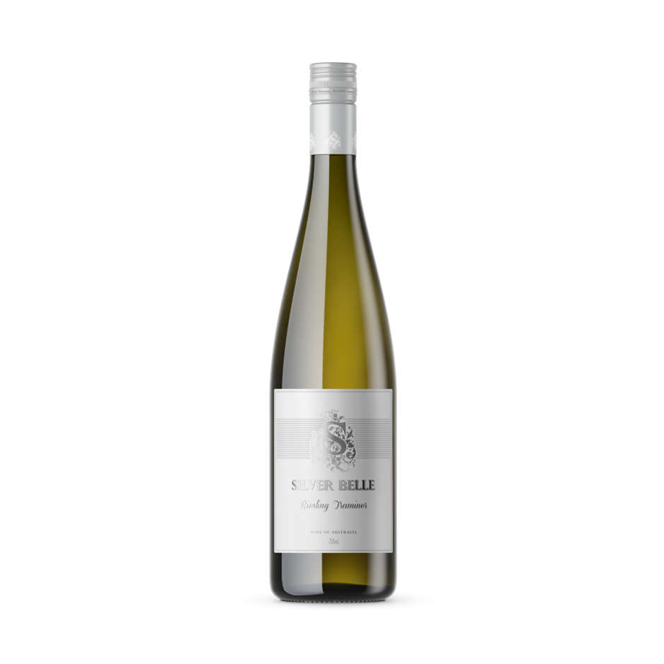 Silver Belle Riesling Traminer 2018 (12x 750mL), VIC