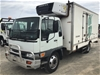 <p>2002 Hino GD 4 x 2 Refrigerated Body Truck</p>