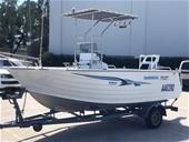 Circa 2006 Aluminium Seajay 5.0 Haven Boat, 90hp Yamaha