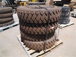 4x Heavy Duty Tyres