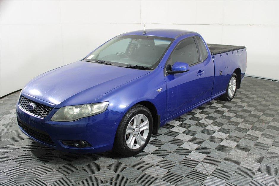 2008 Ford Falcon FG R6 Automatic Cab Chassis Ute