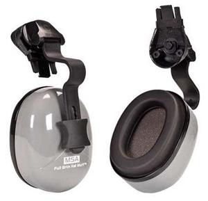 4 Pairs x MSA Full Brim Hat Earmuffs. (S