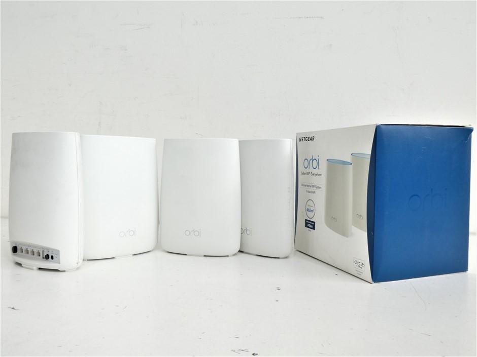 Bundle of Used & Untested Netgear Orbi Home Wifi System