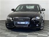 Unreserved 2012 Audi A4 1.8 TFSI B8 CVT Sedan
