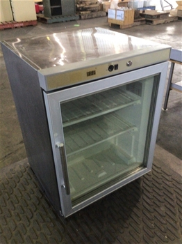 Stainless Steel Display Bar Freezer