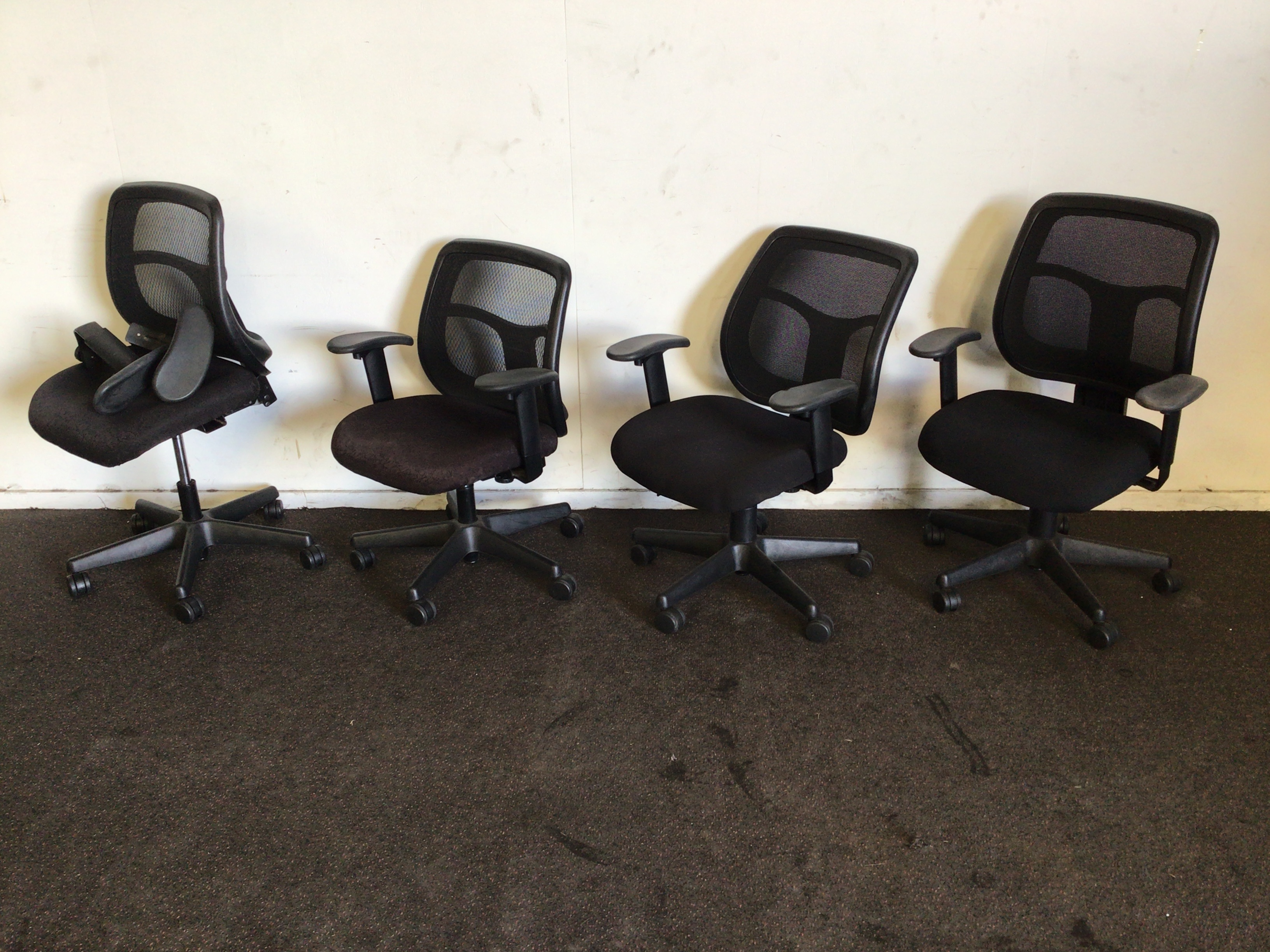 Qty 4 X Office Chairs