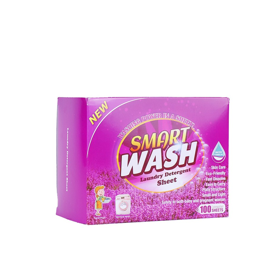 100 Sheets Eco-friendly Ultra Concentrated Laundry Detergent