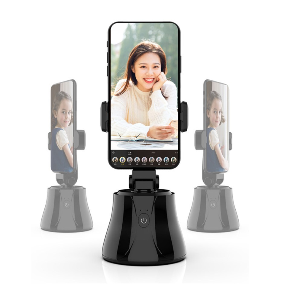 360°Rotation Auto Face n Object Tracking Smart Phone Mount