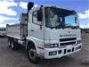 <p>03/2001 Mitsubishi FV 500 6 x 4 Tipper Truck</p>