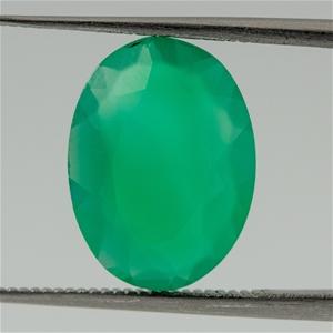 3.32ct Emerald Green Agate Quartz