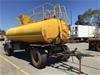 <p>2012 Dongara Body Builders DT180 Tandem Water Trailer</p>