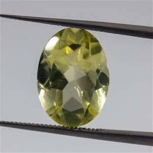 5.66ct Green Golden Quartz