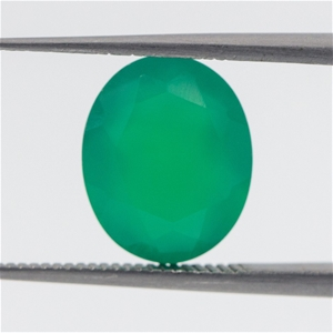 3.43ct Emerald Green Agate Quartz