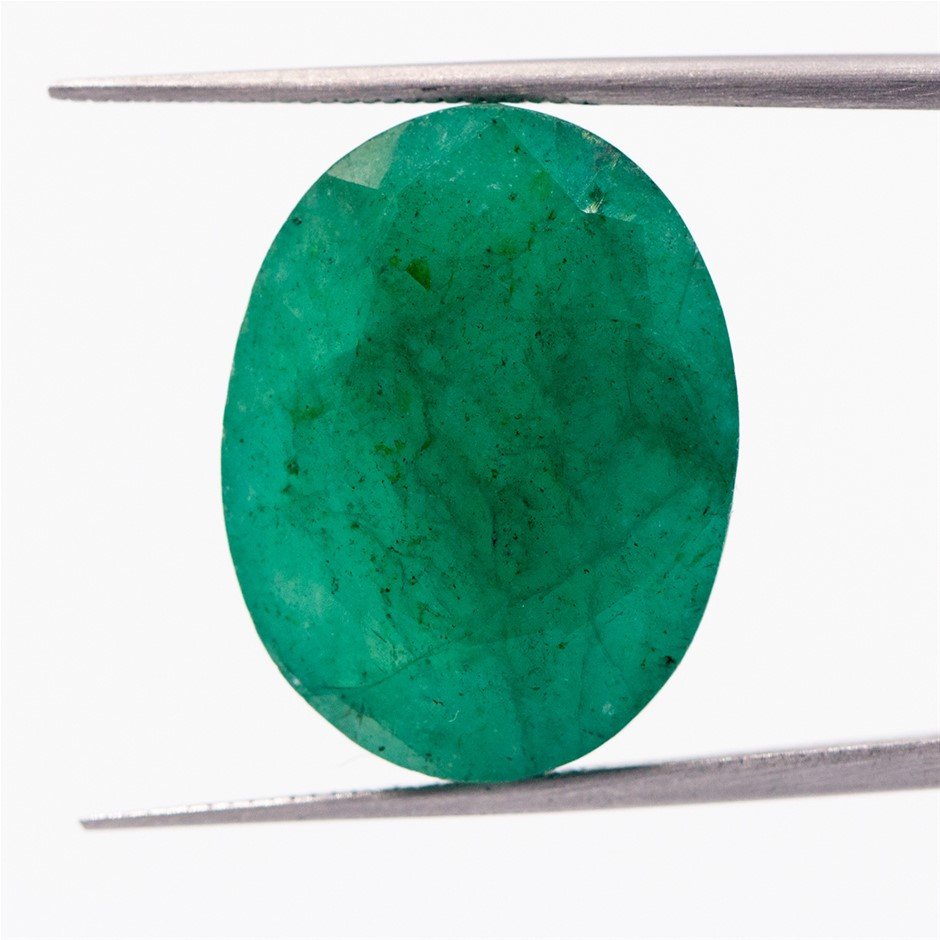 19.96ct Colour Enhanced Emerald