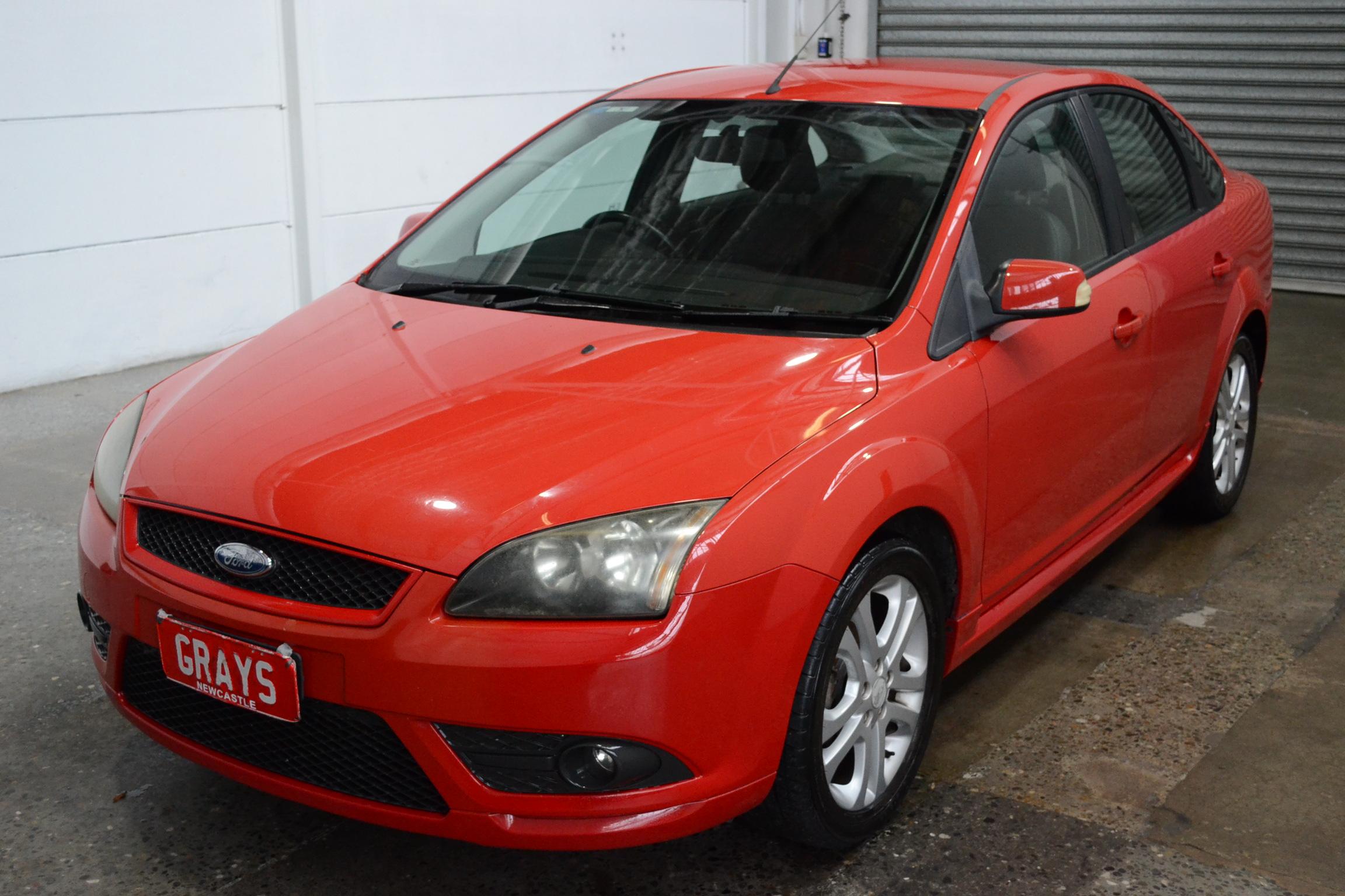 2008 Ford Focus Zetec LT Manual Sedan