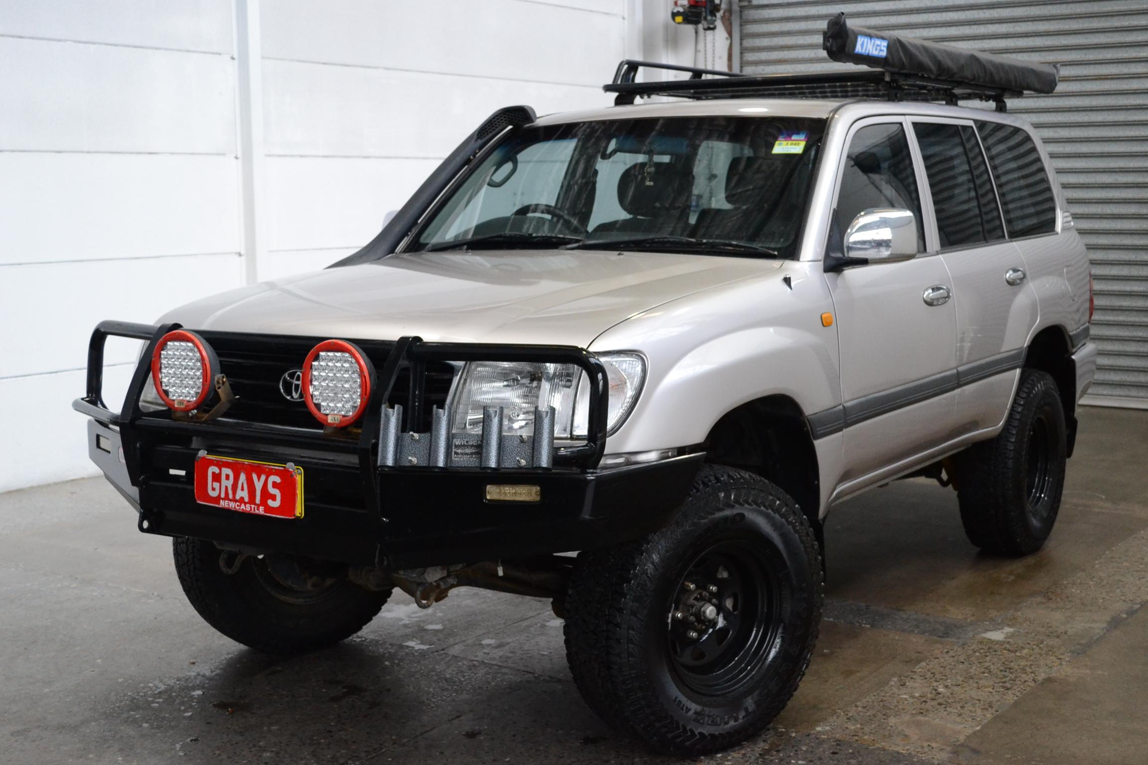 2002 Toyota Landcruiser GXL (4x4) FZJ105R Automatic Wagon