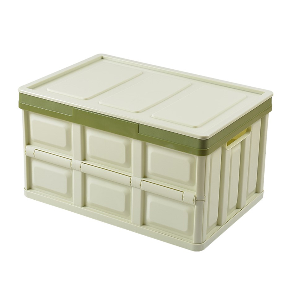 SOGA 30L Collapsible Car Trunk Storage Box Green