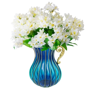 SOGA Flower Vase with 10 Bunch 6 Heads A