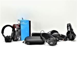 Bundle of Used & Untested Headphones and