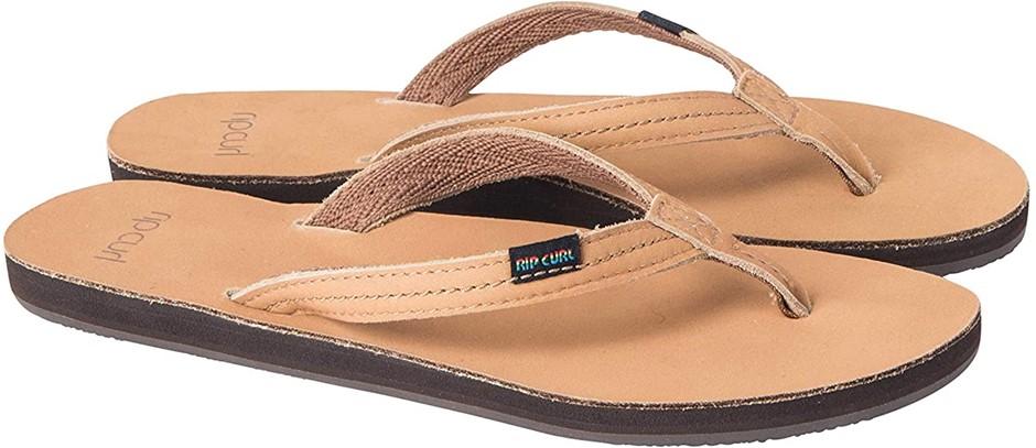RIP CURL Riviera Women`s Casual Shoe, Colour Tan, Size 6 AU. Buyers Note -