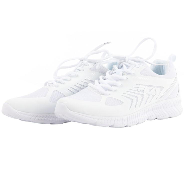 FILA Men`s Ardea Running Shoes, Size UK 10.5, White. (SN:CC69055) (279323-4