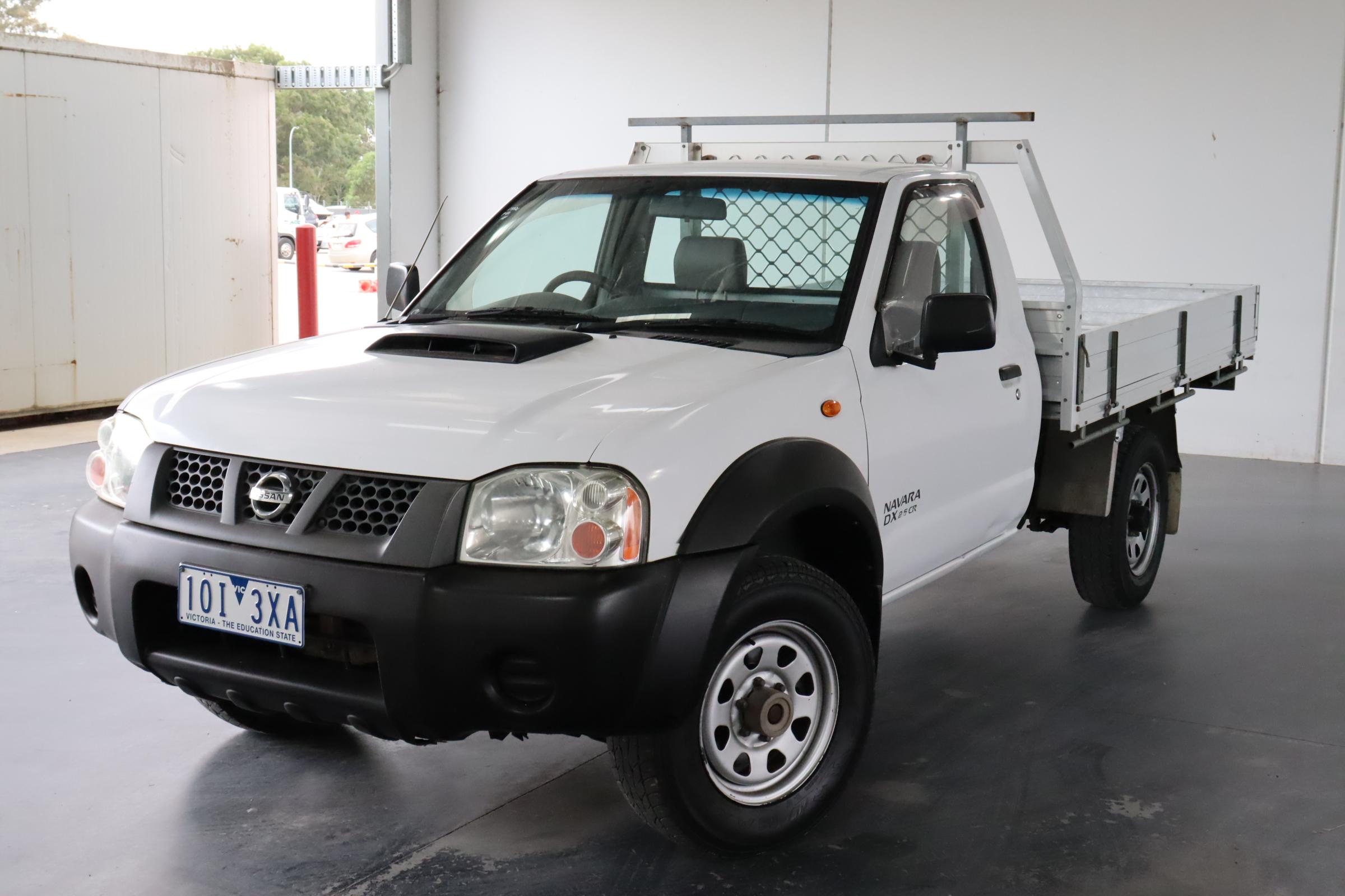 2008 Nissan Navara DX (4x4) D22 Turbo Diesel Manual Cab Chassis